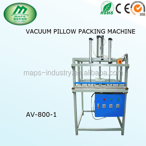 factory outlets vacuum pilow packing machine with top speed