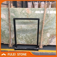 Top quality best light green onyx marble stone price