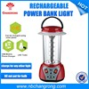 Rechargeable Bright LED Camping Plastic Portable