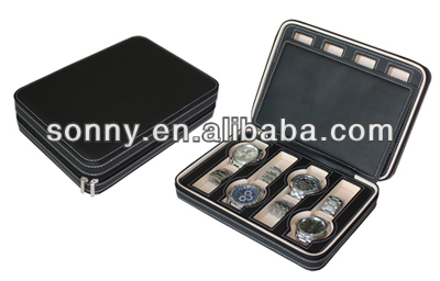 Best Price Both Available For Women And Men PU Watch Case Corporate Gifts 2013