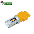 G-View projector T25 led light 12V T20 7440 7443 3030 15SMD led tail lamp Backup car Parking Lamps Bulbs