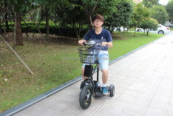 Adult mobility scooter, easy operation electric bike, 350W 36V three- wheel motorcycle