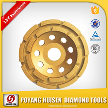 Tailored Cutting Wheel Size China Top Supplier HUISEN Diamond Grinding Wheel