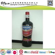 Supper market sales customized advertising giant pvc promotional standing fruit juice bottle inflatable