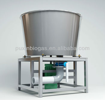 Complete large size food waste disposer