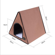 12 Voltage Heated animal house with heated mat for dog cat and small animals