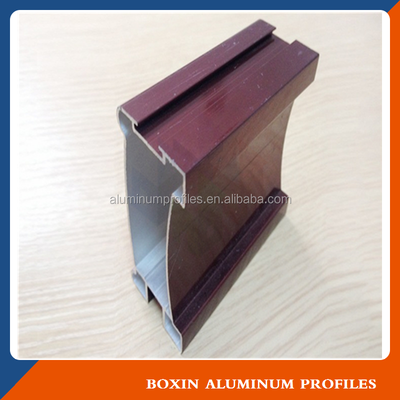 Aluminium profile for making windows and doors