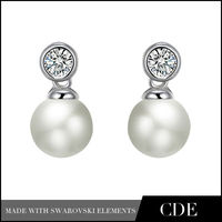 CDE fashion pearl earring 2013