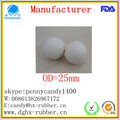 Dongguan manufacturer high bouncy sponge rubber dog toy ball
