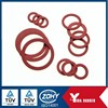 China customized viton rubber o ring gasket/ silicone color rubber grommet/ factory custom falt round rubber grommet