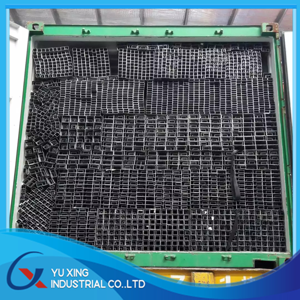 25*25*0.5MM cold rolled Black annealed welded square steel tube