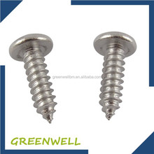 Fastener galvanized shoulder Philips pan head self tapping screw
