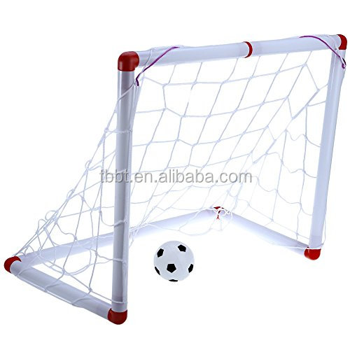 Bigbang Sports Portable sport game set soccer goals with net and pvc balls football goals set wholesale price