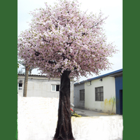 China factory wholesale lasting big artificial silk cherry blossom tree with removable fake tree branches
