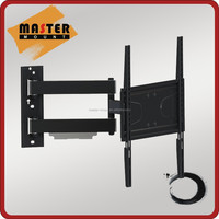 Heavy duty articulating arm LCD LED monitor wall mount for plasma flat screen from 32