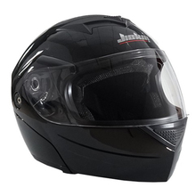 Winter Warm JIEKAI Undrape Face Motorcycle Helmet ABS Open Face Double Lens Motorbike Helmets Model JK111 for Four Seasons