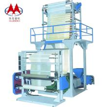 chiese supplier Double Layer Co-extruding Traction unit rotary Plastic Blown Film Blowing Machine Price