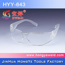 OEM plastic safety glasses in china anti-impact protective eyes glasses