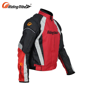 Motorcycle Sport Bike Shoulder Street Racing Riding Jackets For Men With Armor