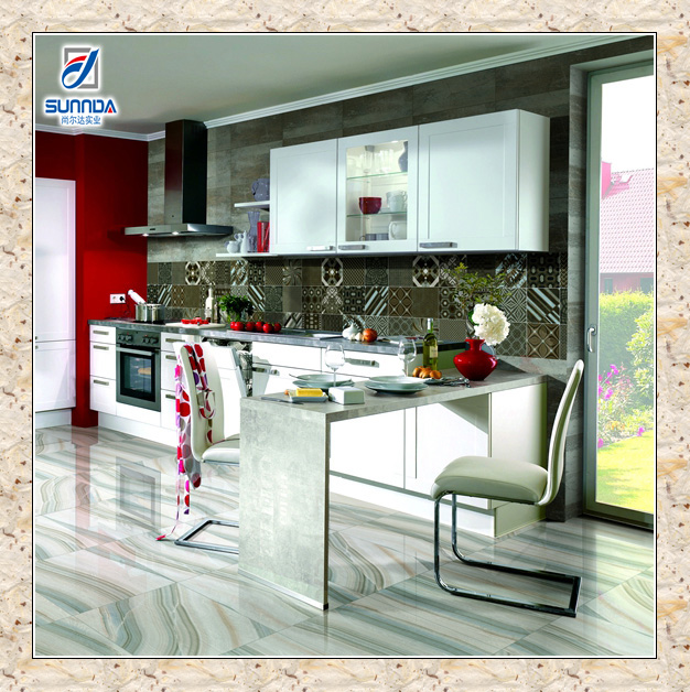 32x32 big size digital vitrified marble look inkjet printing glossy full glazed polished flooring porcelain tiles