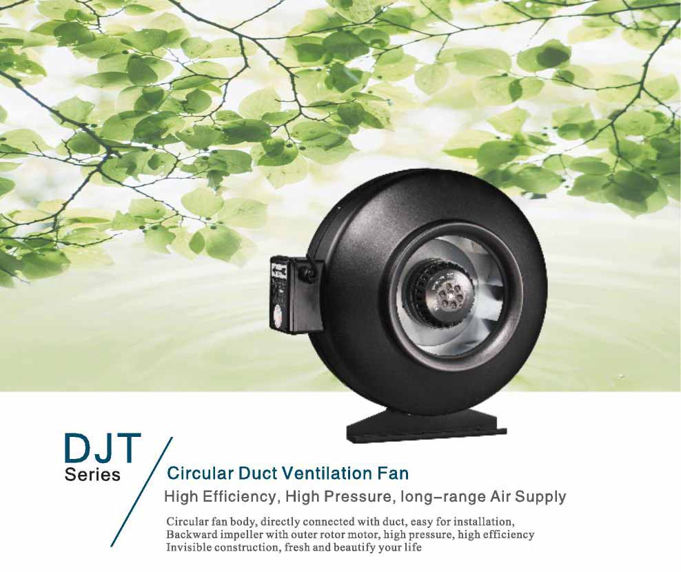 High Quality Large Flow Duct Exhaust Fan, Air Blower, Ventilating Fan
