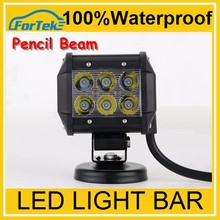universal,Two Rows Spot/flood cree led light bar 18w led off road light led work light