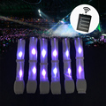 Concert Party Events Customized Logo 15 Color Changes Nylon Remote Controlled Led Bracelet