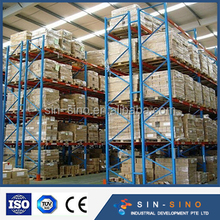 Adjustable colorful China warehouse equipment Pallet Racking system