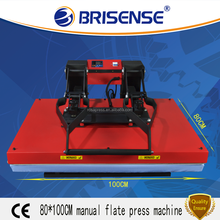 Factory Direct Sale Brisense Brand Manual Large Format 80x100 Heat Transfer Printing Machine with CE
