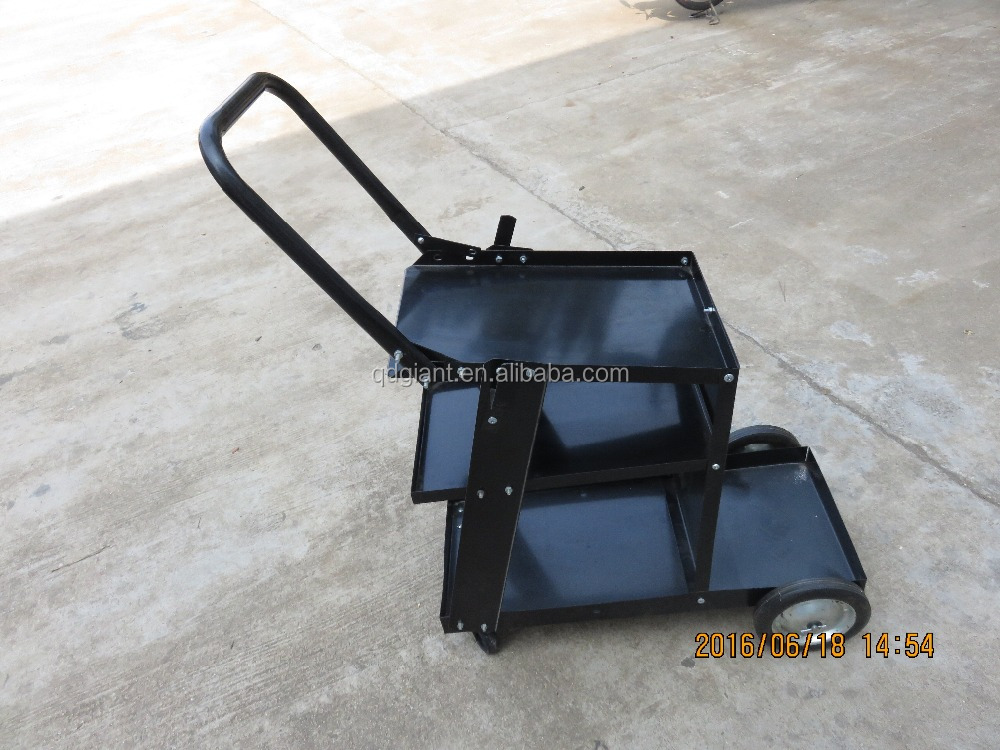 Service Trolley Cart Metal Plant Welding cart with Handle