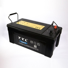 high quality mf car battery 12v 150ah powered starting with