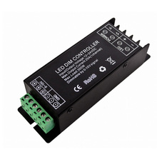 Hot 0-10V analog control signal dimmer 1 -10V LED Dimmer single color led controller 1ch*25A ce rohs warranty
