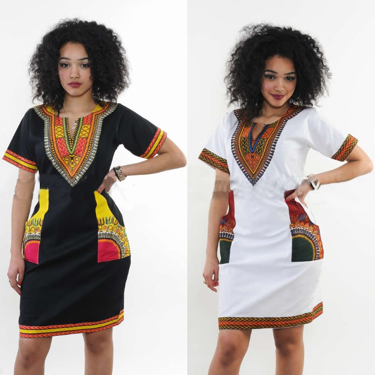 zm22855a wholesale fashion dresses women summer hottest printed ladies african clothes