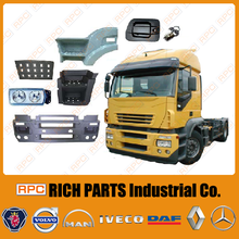 Truck Bumper, Mirror, Lamp, Fender Made in Taiwan Eurocargo/ Stralis/ Eurostar/ Eurotech European Iveco Truck Spare Parts