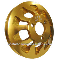 VW 8v watercooled water pump pulley - R8 model