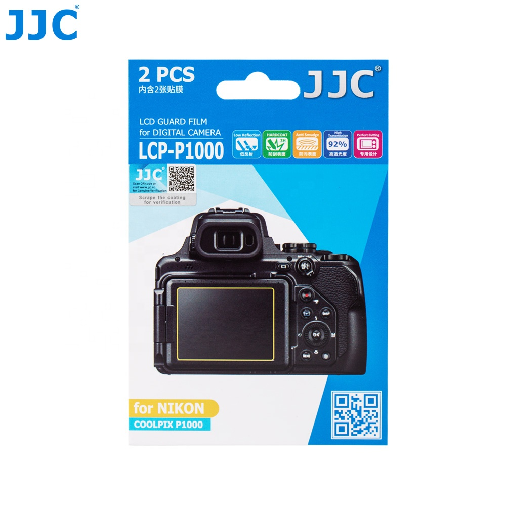 JJC Camera <strong>LCD</strong> Guard Film for NIKON COOLPIX <strong>P1000</strong>