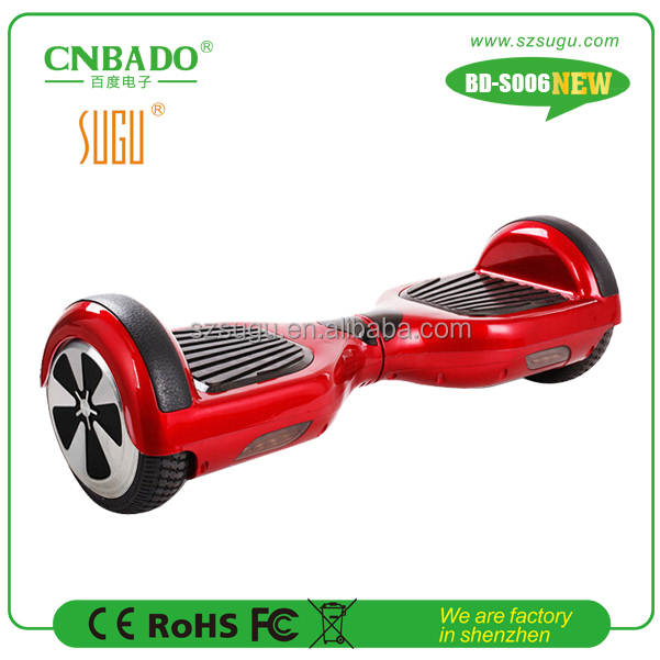2017 classical self balancing scooter 6.5inch electric vehicle shenzhen