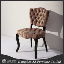 wholesale dining room button tufted back upholstered chair