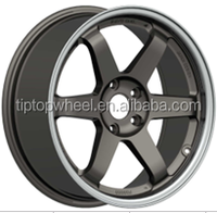 fashion style replica bullet alloy wheels for sport car light weight 18 inch fit for Japanese car