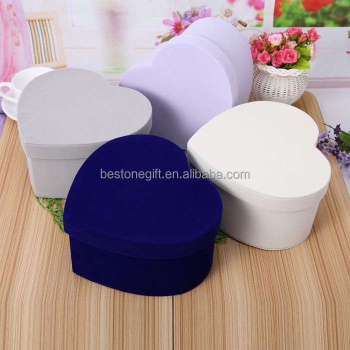 Custom Heart Shaped Soap Packaging Paper Box Flower Gift Cardboard Box