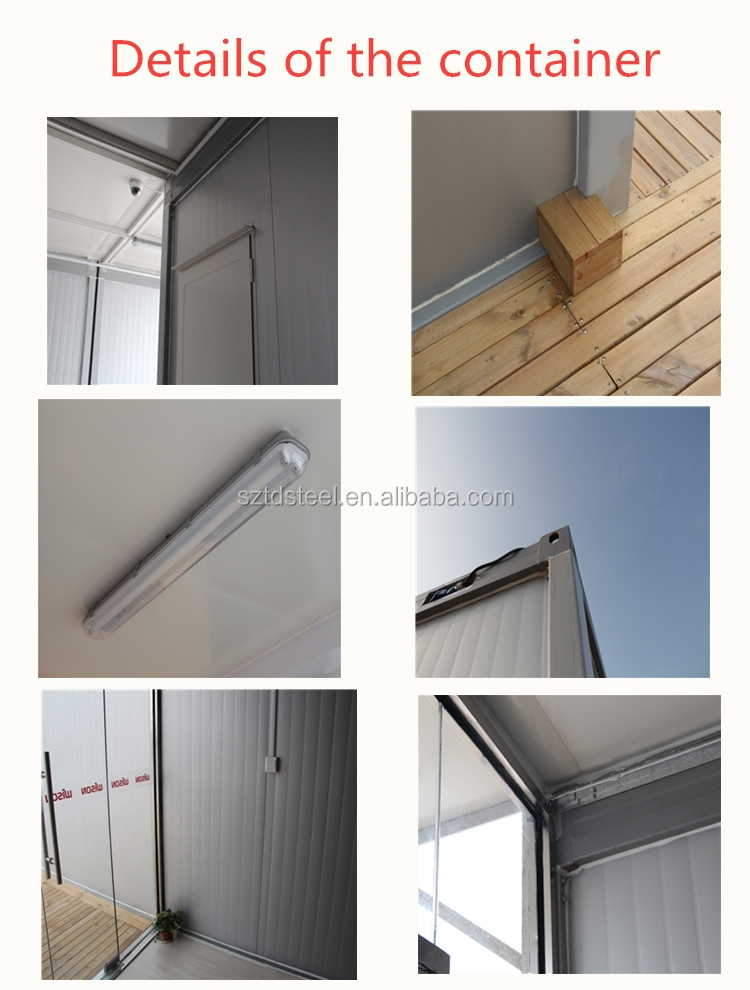 20ft 40ft luxury prefab container home and office