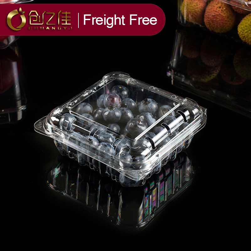 food packaging box disposable food container plastic pet box