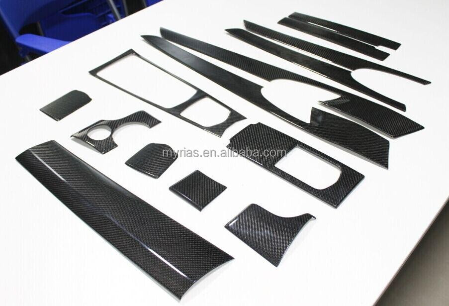 carbon fiber interior trim for panamera (2010' up)