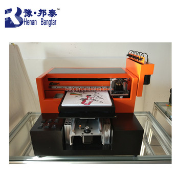 a3 digital flatbed printer t-shirt flatbed uv printer uv led printer