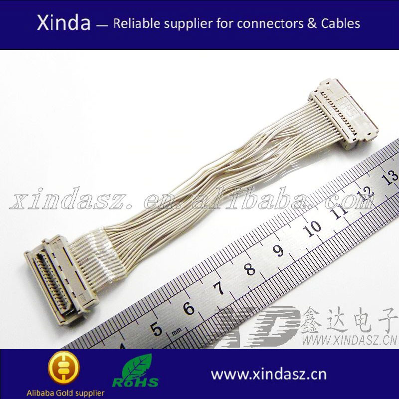 2015 home application 40 pin lvds cable lvds to dvi cable with free sample on Alibaba