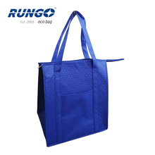 High quality promotional insulated thermostat bag cooler bag,beer bottle cooler bag,lunch cooler bag with drink holder