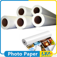 top quality new arrival roll size dual side glossy photo paper