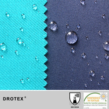 Workwear Fabric Washable >30washing Cycles Durable Water Repellent