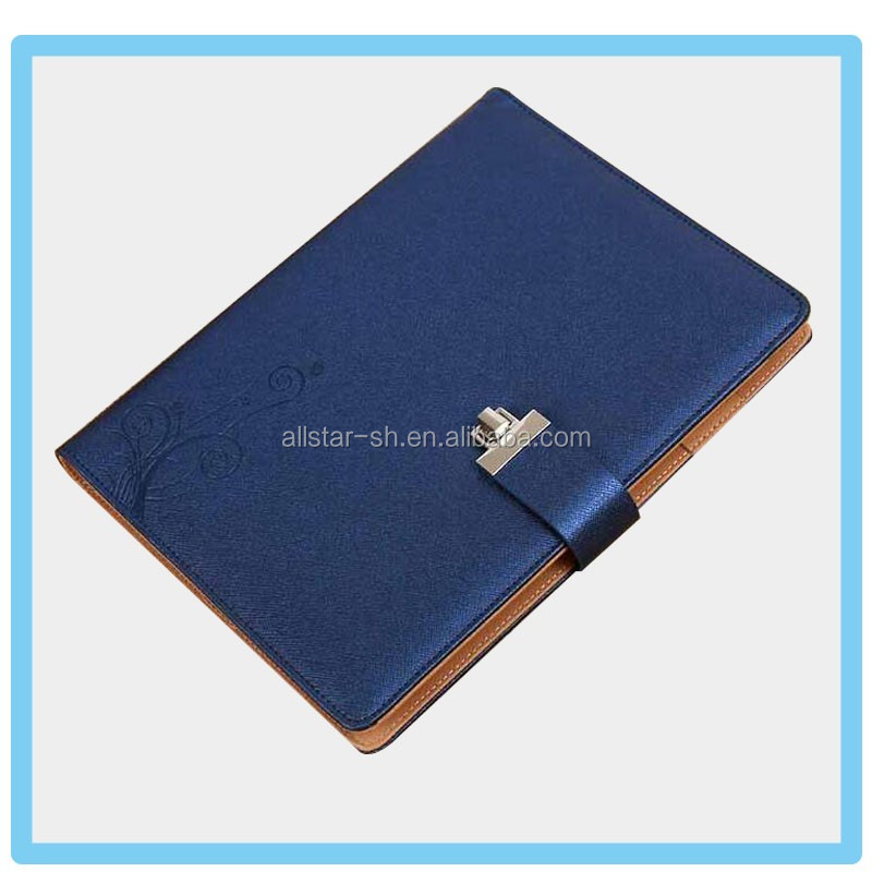 high-quality recycle cheap PU leather cover small notebook