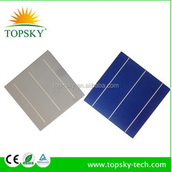2015 hot sale high efficiency 156mmx156mm 6inch,3BB/4BB polycrystalline/multi solar cell,mono solar cell,made in Taiwan/Germany